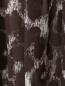 Платье-мини из полиэстера с анималистичным узором Norma Kamali  –  Деталь1