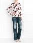 Прямые джинсы с имитацией потертости Alena Akhmadullina  –  Модель Общий вид