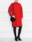 Платье двухцветное крупной вязки Jil Sander Navy  –  МодельОбщийВид