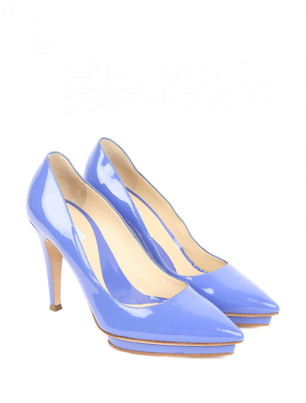 Туфли из лаковой кожи Moschino  –  Общий вид