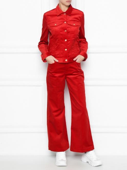 Вельветовая куртка  - Общий вид