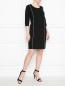 Платье-футляр трикотажное с контрастной отделкой Marina Rinaldi  –  МодельОбщийВид