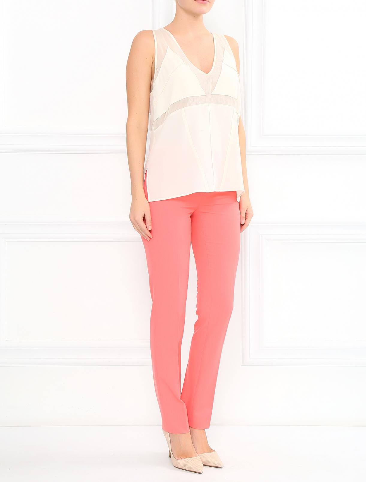 Узкие брюки со стрелками Moschino Cheap&Chic  –  Модель Общий вид