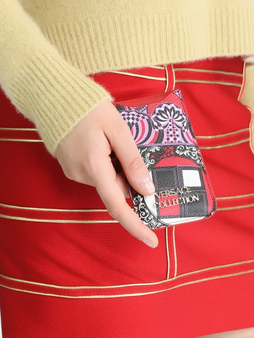 Чехол для IPhone 4 с узором - Модель Верх-Низ