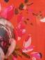 Юбка из хлопка и шелка с цветочным узором Caractere  –  Деталь