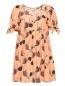 Платье из шелка с абстрактным узором L'Autre Chose  –  Общий вид
