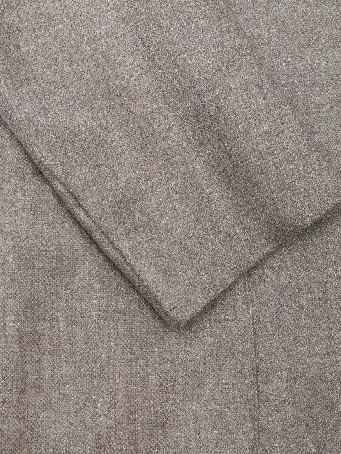Пиджак из шелка и шерсти - Деталь