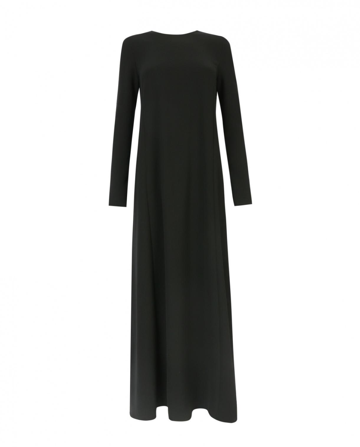 Платье-макси с длинным рукавом P.A.R.O.S.H.  –  Общий вид