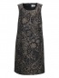 Платье с узором и боковыми карманами Voyage by Marina Rinaldi  –  Общий вид