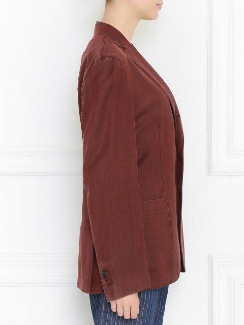 Пиджак из хлопка - Модель Верх-Низ2