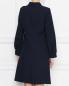Платье прямого силуэта с металлическими пуговицами Tara Jarmon  –  МодельВерхНиз1