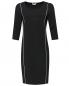 Платье-футляр трикотажное с контрастной отделкой Marina Rinaldi  –  Общий вид