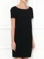 Платье свободного кроя с короткими рукавами Moschino Cheap&Chic  –  МодельВерхНиз