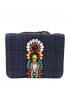Сумка из текстиля на цепочке Essentiel Antwerp  –  Общий вид