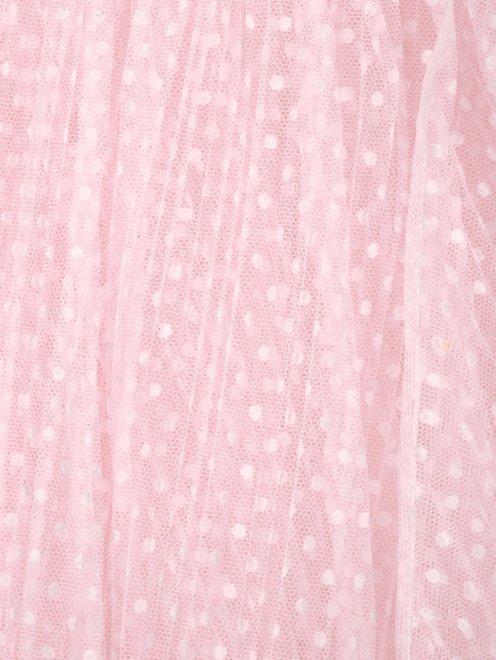 Юбка из сетки со сборкой - Общий вид