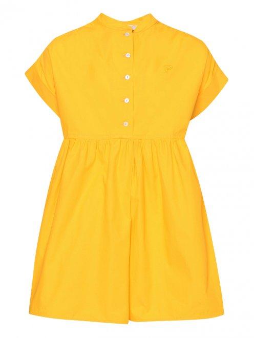 Платье хлопковое свободного фасона - Общий вид