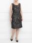 Платье с узором и боковыми карманами Voyage by Marina Rinaldi  –  Модель Общий вид