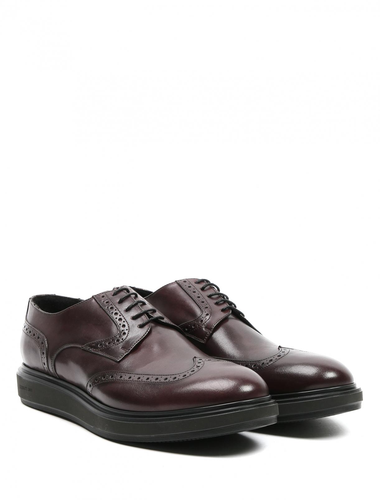 Ботинки из кожи Cerruti 1881  –  Общий вид