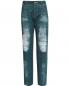 Прямые джинсы с имитацией потертости Alena Akhmadullina  –  Общий вид