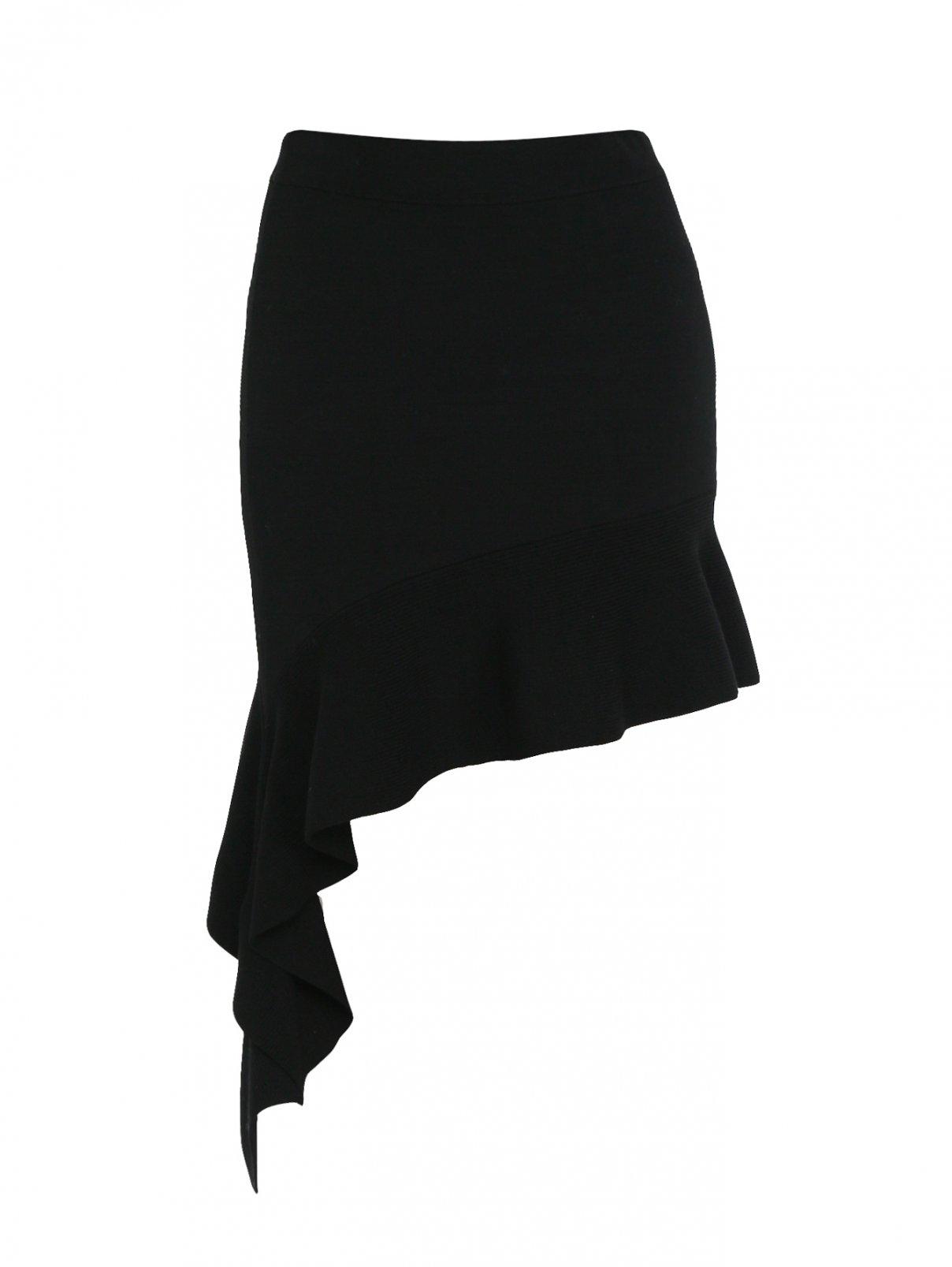 Юбка асимметричного кроя на резинке Mo&Co  –  Общий вид