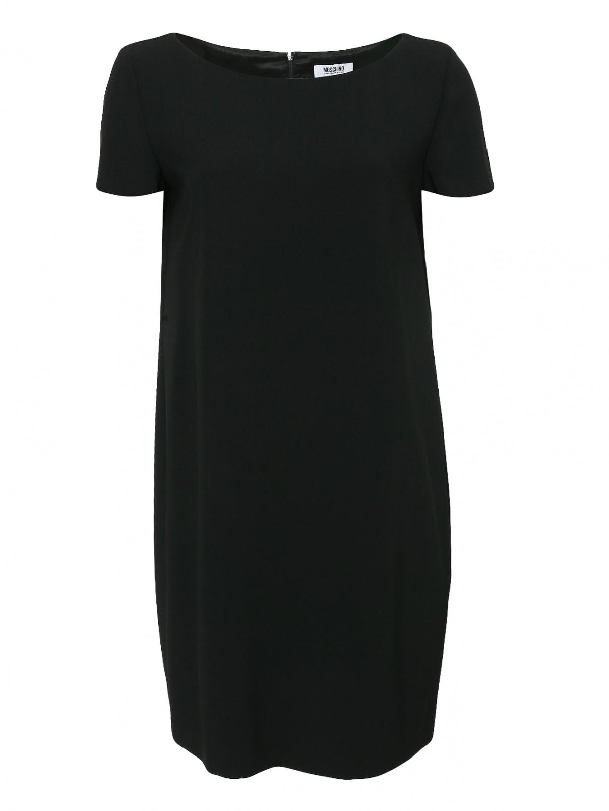 Платье свободного кроя с короткими рукавами Moschino Cheap&Chic  –  Общий вид