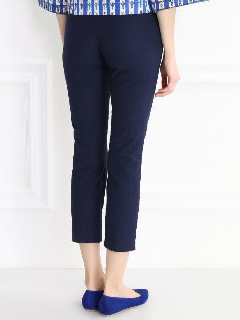 Укороченные брюки из хлопка - Модель Верх-Низ1