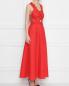 Платье льняное, с декором кружевом Ermanno Scervino  –  МодельВерхНиз