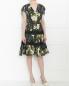 Платье-миди из хлопка с цветочным узором Jean Paul Gaultier  –  Модель Общий вид