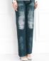 Прямые джинсы с имитацией потертости Alena Akhmadullina  –  Модель Верх-Низ