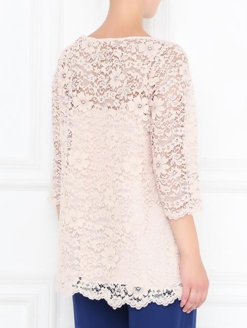 Блуза с кружевным узором - МодельВерхНиз1