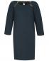 Платье-мини свободного кроя с контрастной отделкой Paul&Joe Sister  –  Общий вид