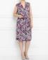 Платье из шелка с узором Voyage by Marina Rinaldi  –  Модель Общий вид