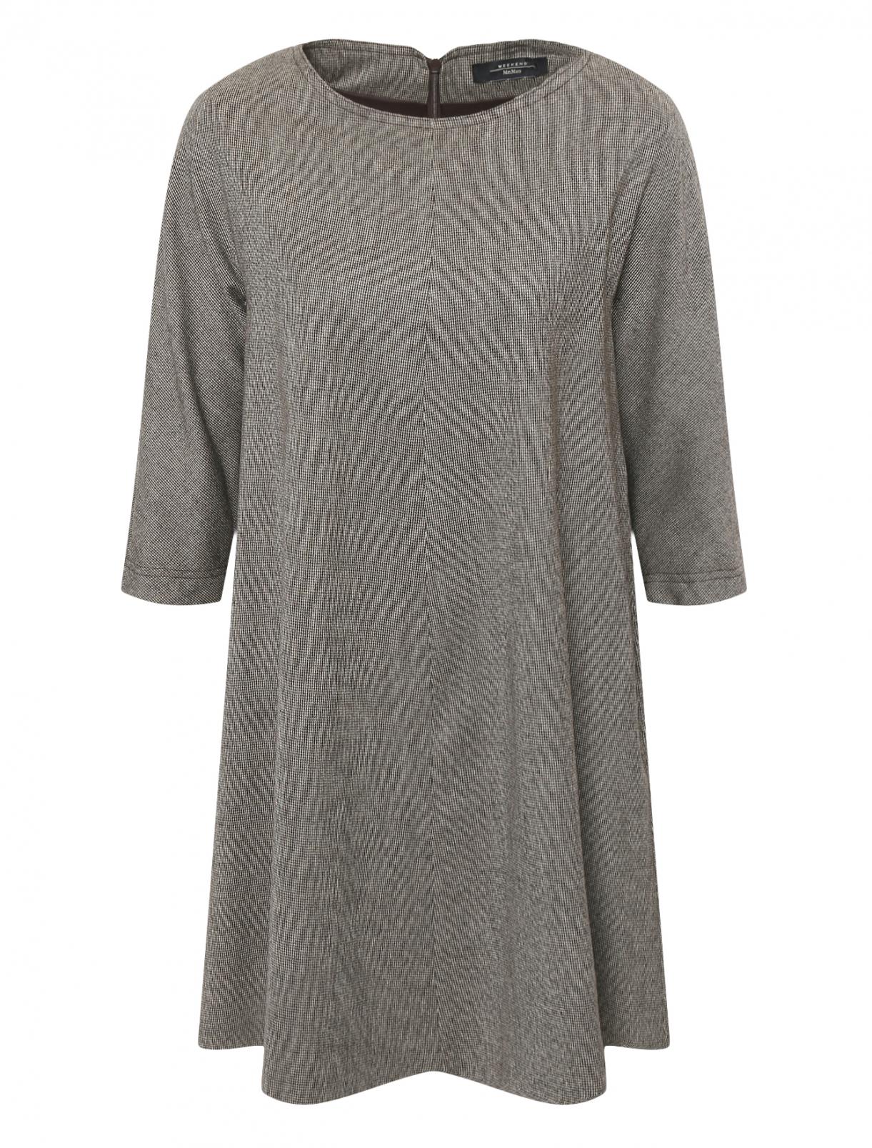 Платье свободного кроя с рукавами 3/4 Weekend Max Mara  –  Общий вид