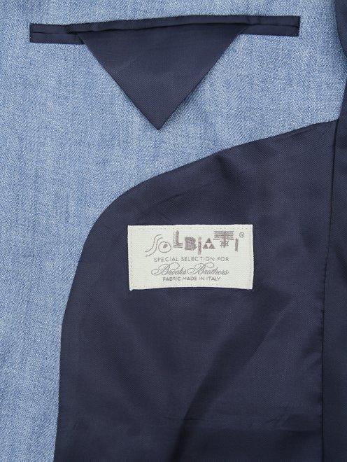 Пиджак из льна - Деталь2