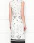 Платье-миди с цветочным узором Ermanno Scervino  –  МодельВерхНиз1