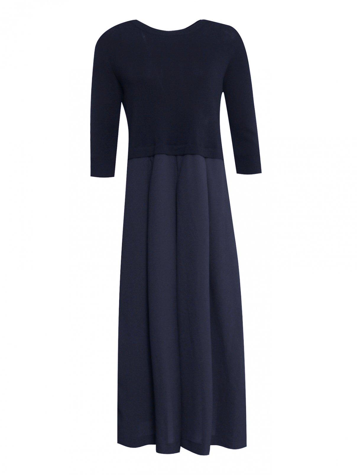 Платье-миди свободного кроя с рукавами 3/4 Weekend Max Mara  –  Общий вид