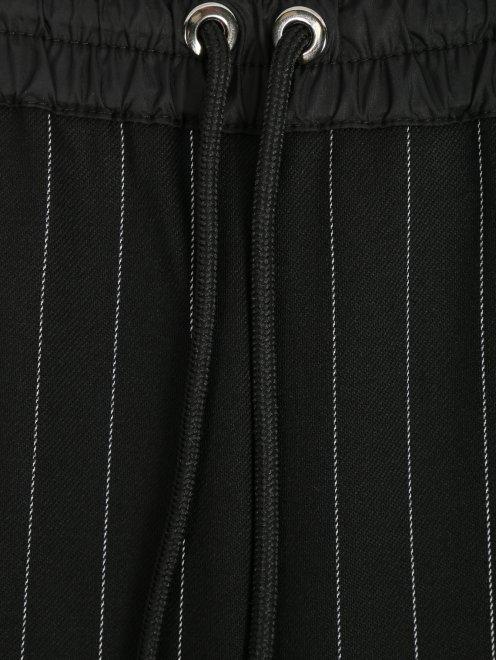 Укороченные брюки из шерсти в полоску - Деталь1