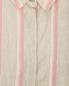 """Платье-рубашка прямого кроя из льна и хлопка с узором """"полоска"""" Marina Rinaldi  –  Деталь"""