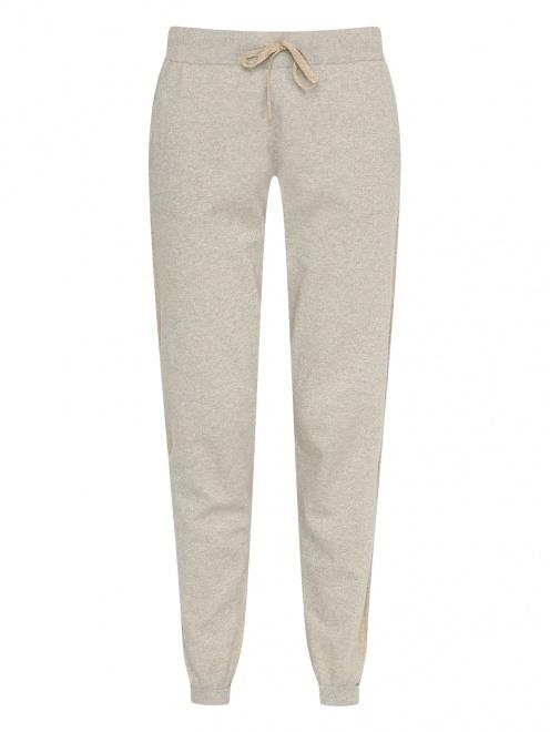 Спортивные брюки из хлопка на резинке - Общий вид