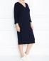 Трикотажное платье  прямого кроя Marina Rinaldi  –  МодельОбщийВид