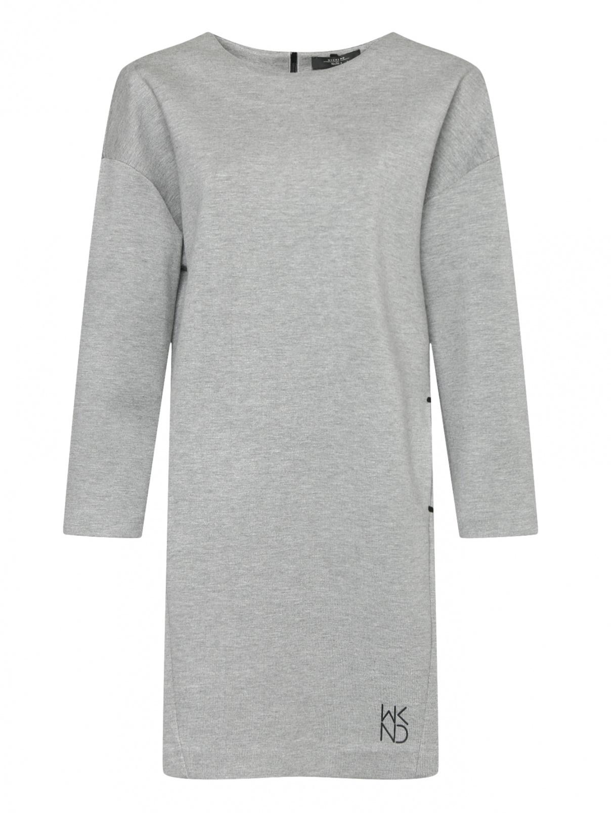 Платье свободного кроя с карманами Weekend Max Mara  –  Общий вид