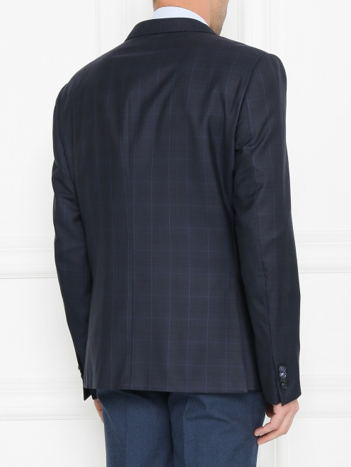 Пиджак из шерсти с узором - МодельВерхНиз1
