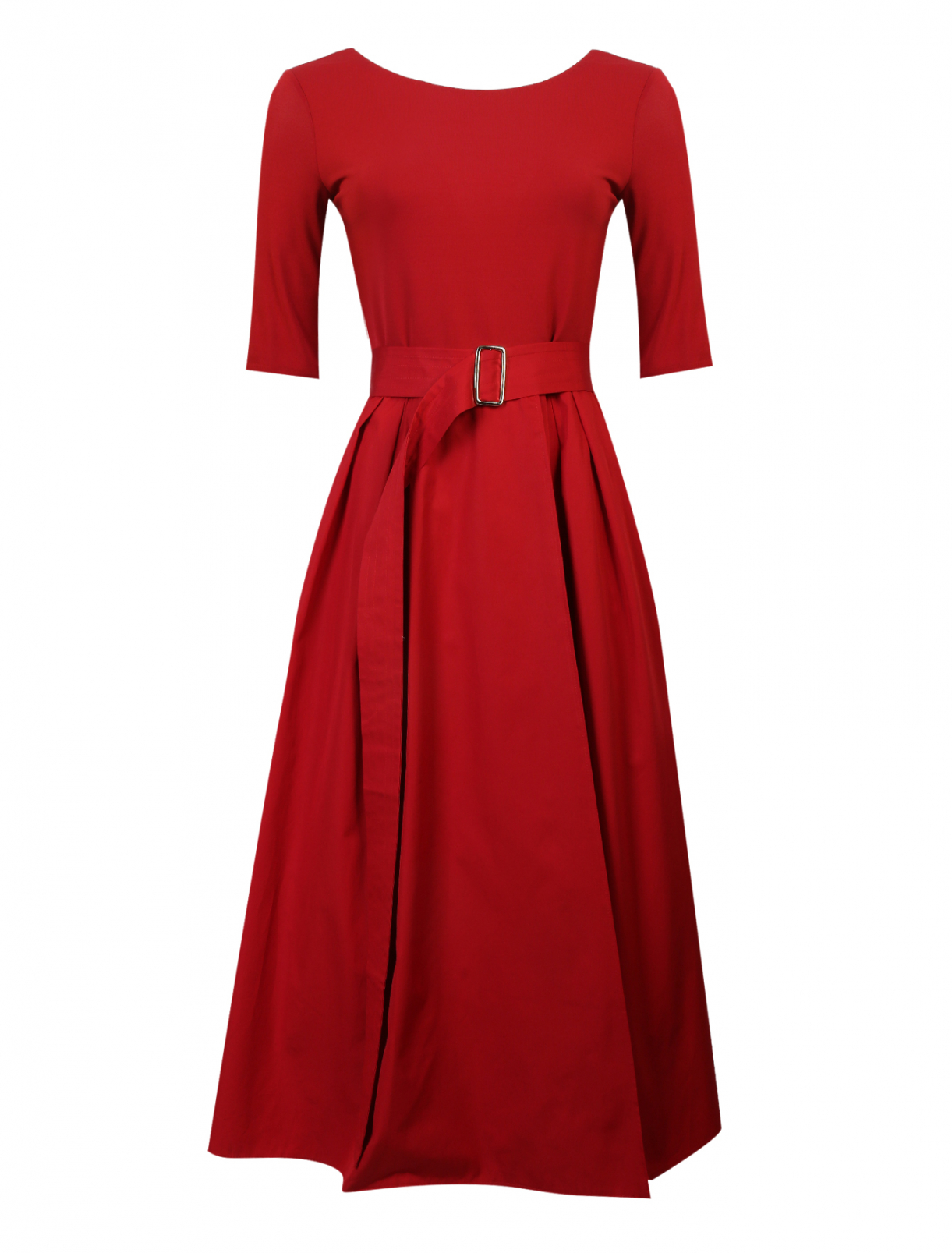 Платье со сборками на талии Max Mara  –  Общий вид