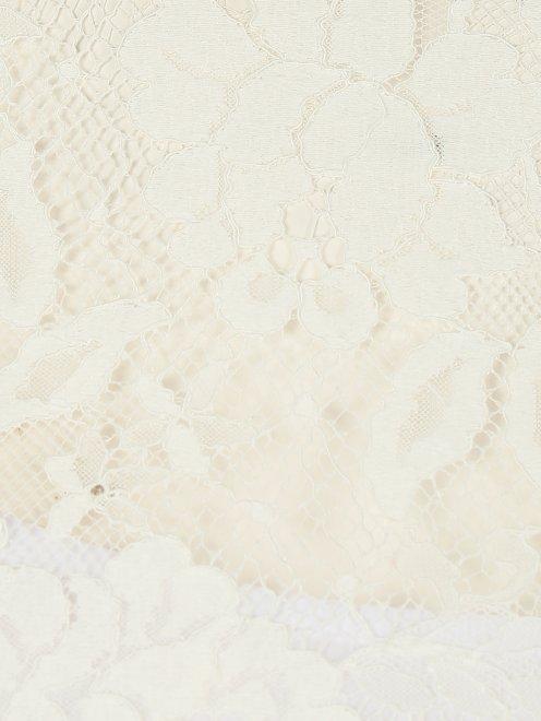 Блуза со вставками из кружева - Деталь1