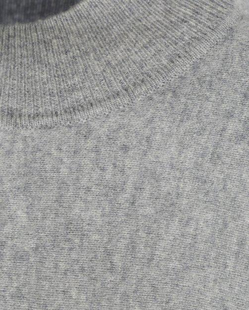 Укороченный джемпер из шерсти - Общий вид