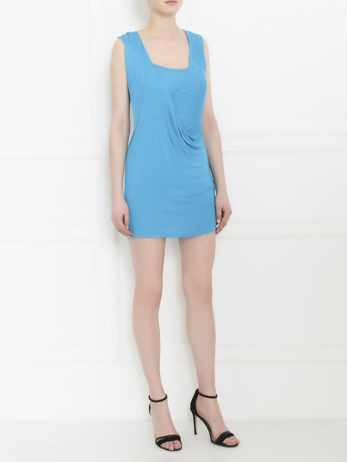 Платье-мини из трикотажа Caractere  –  Модель Общий вид