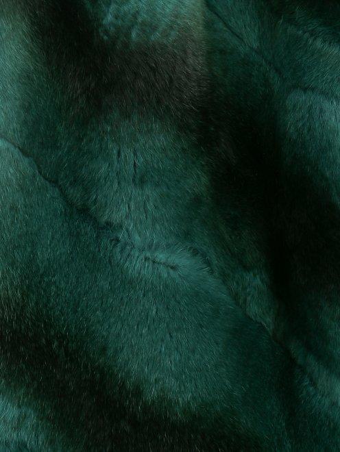 Жилет из кашемира и меха - Деталь1