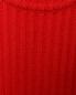 Платье двухцветное крупной вязки Jil Sander Navy  –  Деталь