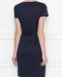 Платье шерстяное, приталенное, с поясом Brooks Brothers  –  МодельВерхНиз1