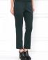 Узкие эластичные брюки с высокой посадкой и боковыми карманами Jil Sander  –  Модель Верх-Низ